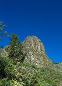 pic of municipal  - Gran Canaria Valsequillo municipality view towards volcanic plug Roque del Pino - JPG