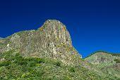 foto of municipal  - Gran Canaria Valsequillo municipality view towards volcanic plug Roque del Pino - JPG