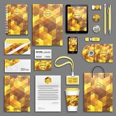 pic of letterhead  - Corporate identity template set - JPG