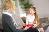 image of grandmother  - 