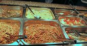 pic of chinese restaurant  - Chinese restaurant with tasty food and noodles - JPG