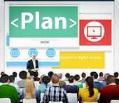 pic of objectives  - Plan Strategy Goals Objective Seminar Conference Learning Concept - JPG