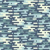 Постер, плакат: Camouflage Vector Seamless Pattern