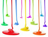 image of ooze  - Paint pouring - JPG