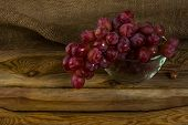 Постер, плакат: Bunch Of Red Grapes