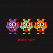 Постер, плакат: Monsters