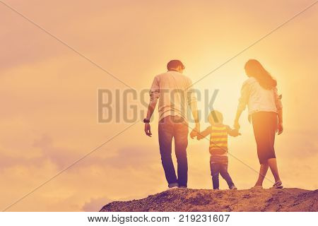 poster of son father mother boy fun love nature vacation happiness young family joy summer sun together outdoors play travel smiling parents walk lifestyle relationship parent active photo happy family positive people relatives recreational activity sky relaxation