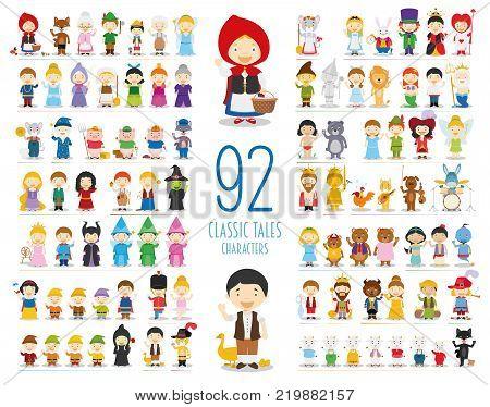 Kids Vector Characters