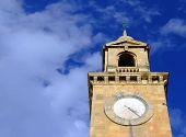 Medieval Clocktower poster