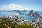 City of Rio de Janeiro, the main tourist destination in Brazil poster
