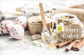 Easter Cooking Still Life poster