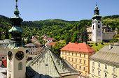picture of banska  - Historic mining town Banska Stiavnica - JPG