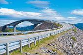 Norway Atlantic Ocean Road Or The Atlantic Road (atlanterhavsveien) Been Awarded The Title As norwe poster