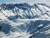 Amazing Winter Landscape Of Polezhan Peak From Todorka Peak, Pirin Mountain, Bulgaria poster