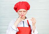 Healthy Vegetarian And Vegan Recipes. Eat Healthy. Woman Chef Cooking Hold Wooden Spoon. Healthy Rec poster