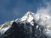 Peak Of The Langtang Range