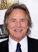 LOS ANGELES - 10 de JAN: Don Johnson chega para o