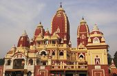stock photo of laxmi  - Famous Laxmi Narayan temple - JPG