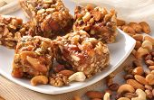 stock photo of halwa  - Delicious and healthy Halwa made by dry fruit - JPG