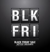 foto of analog clock  - Black friday sale - JPG