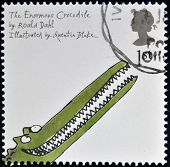 stamp printed in Great Britain