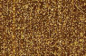 stock photo of spatial  - Gold seamless shimmer background with shiny golden and black paillettes - JPG