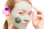 foto of mud  - Skin care - JPG