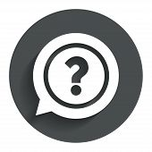 pic of faq  - Question mark sign icon - JPG