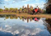 stock photo of world-famous  - Cambodia - JPG