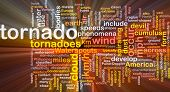 picture of colouder  - Background concept wordcloud illustration of tornado storm weather glowing light - JPG