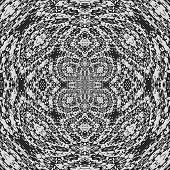 image of lace-curtain  - Radial curtain lace generated texture or background - JPG
