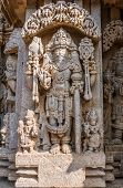 picture of brahma  - A carving of Brahma - JPG