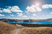 picture of greek-island  - Sea view on the Greek Islands - JPG