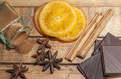 picture of cinnamon  - A jar of cinnamon - JPG