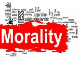 picture of moral  - Morality word cloud image with hi - JPG