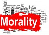 pic of moral  - Morality word cloud image with hi - JPG