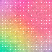picture of color geometric shape  - Mosaic colorful background of geometric shapes - JPG