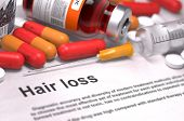 picture of medical injection  - Hair Loss - JPG