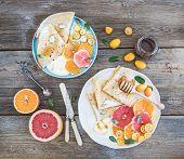 image of kumquat  - Spring vitamin breakfast set - JPG
