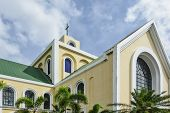 stock photo of luzon  - Our Lady of Penafrancia Church Southren Luzon Philippines - JPG