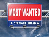 most wanted button want help road sign billboard