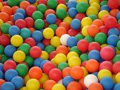 Постер, плакат: Цветные шарики