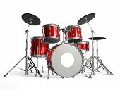 stock photo of drum-kit  - Drums - JPG