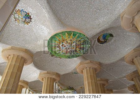 Park Guell Architect Antonio Gaudi