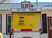 stock photo of biodiesel  - Fuel of the future  - JPG