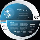 image of web template  - Website Template - JPG