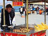 stock photo of peddlers  - ISTANBUL  - JPG