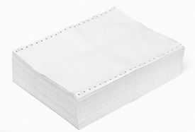 stock photo of crip  - paper after use for recycle for use in office inside have space on top for put your text your job or atr work - JPG