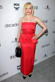 LOS ANGELES - FEB 28:  Rose McGowan arrives at the Harper's Bazaar Celebrates The Launch Of The Duke