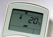 picture of air conditioner  - remote control for an air conditioner - JPG